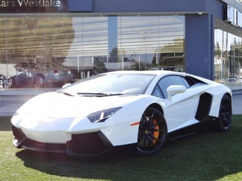 2014 Lamborghini Aventador 2dr Coupe for sale