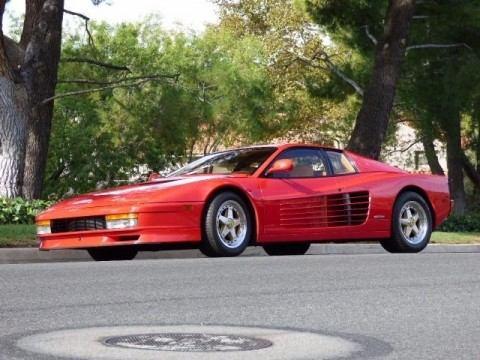 1990 Ferrari Testarossa Beautiful Rosso Corsa Red w/ Tan interior for sale