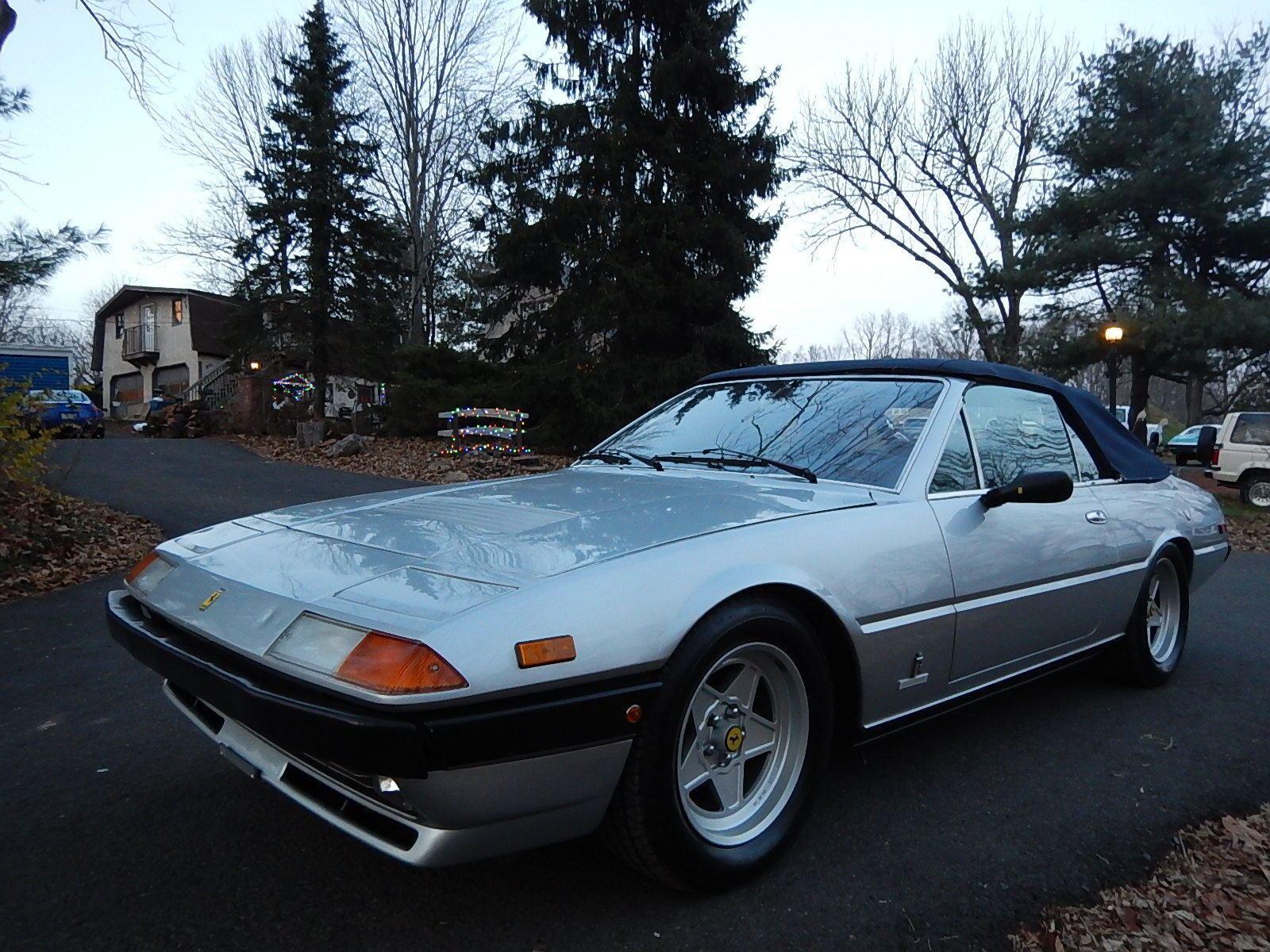 1983 Ferrari 400i Straman Conversion Convertible For Sale