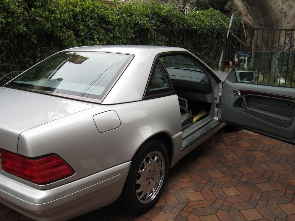 1996 mercedes benz sl600 amg v12 for sale. Black Bedroom Furniture Sets. Home Design Ideas