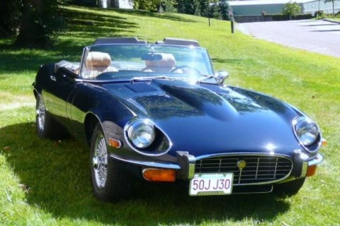 1973 Jaguar Series III V12 Convertible for sale