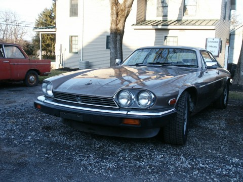 1986 Jaguar XJS V12 Restoration Project, Runs and Drives for sale