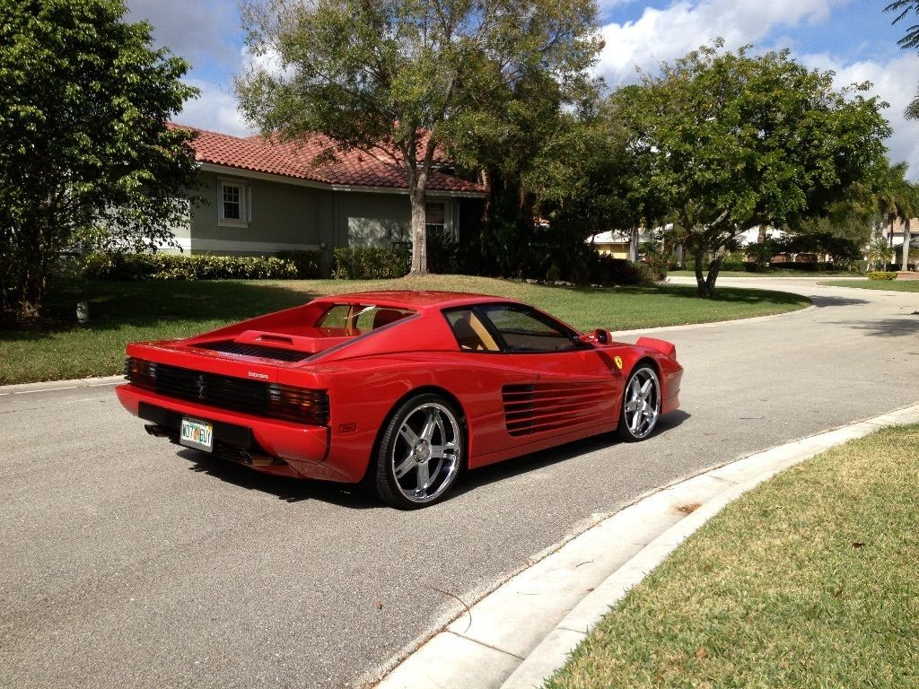1987 ferrari testarossa for sale. Black Bedroom Furniture Sets. Home Design Ideas