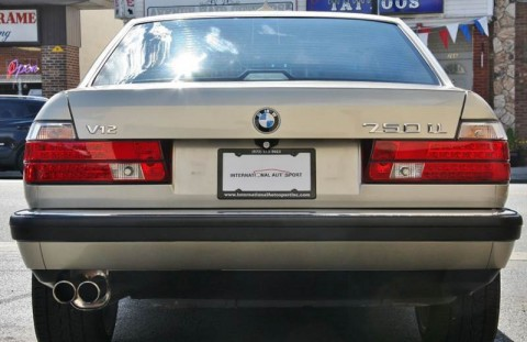 1990 BMW 750il V12 Sedan for sale