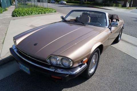 1990 Jaguar XJS 5.3L V12 Convertible for sale