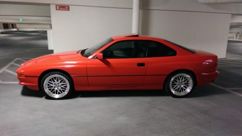 1991 BMW 850i Coupe 5.0L for sale