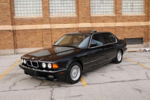 1990 bmw 750il v12 sedan v12 cars for sale. Black Bedroom Furniture Sets. Home Design Ideas