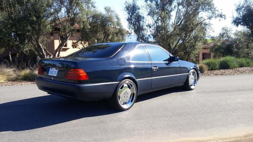 1994 mercedes benz s600 v12 for sale. Black Bedroom Furniture Sets. Home Design Ideas