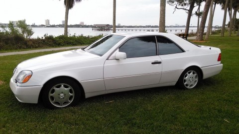 1995 Mercedes Benz S600 Coupe for sale
