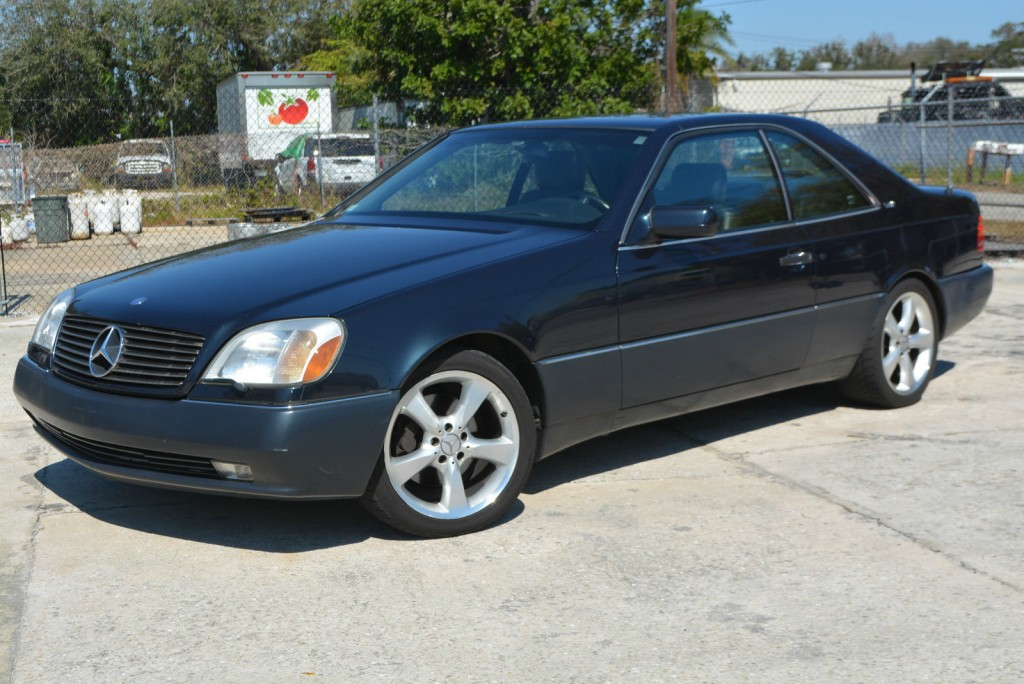 1996 mercedes benz s600 coupe 2 door 6 0l for sale for 1996 mercedes benz s600