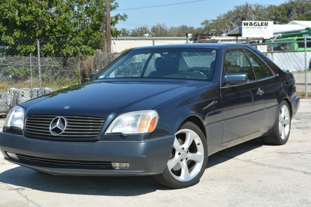 1996 mercedes benz s600 coupe 2 door 6 0l for sale for S600 mercedes benz for sale