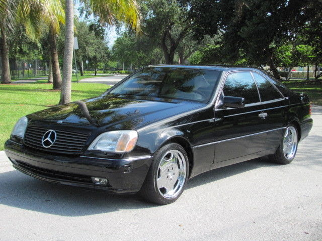 Best Way To Clean Car Seats >> 1997 Mercedes Benz S600 V12 Coupe for sale