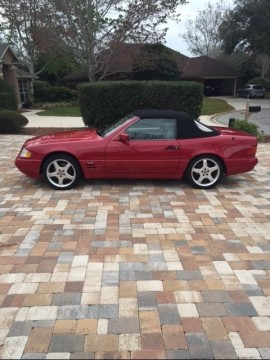 1997 Mercedes Benz SL600 V12 Roadster for sale