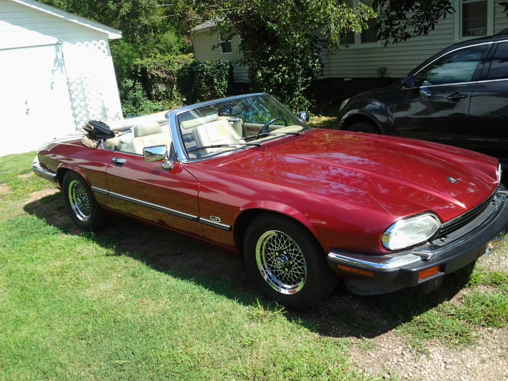 jaguar 1992 xjs convertible low mileage for sale. Black Bedroom Furniture Sets. Home Design Ideas