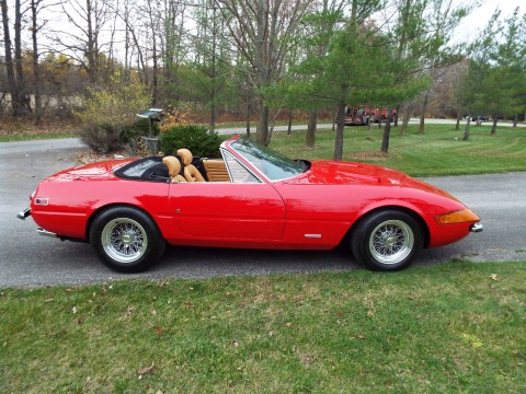 1972 Ferrari Daytona 365 GTB/4 Alloy Spider conversion for sale