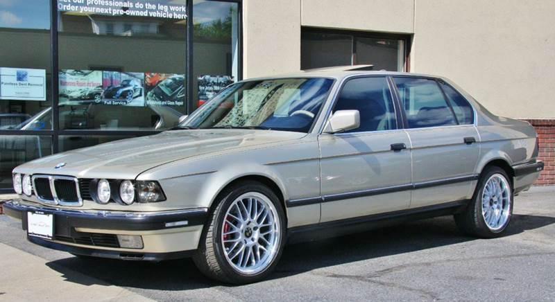 1990 Bmw 750il V12 Sedan For Sale