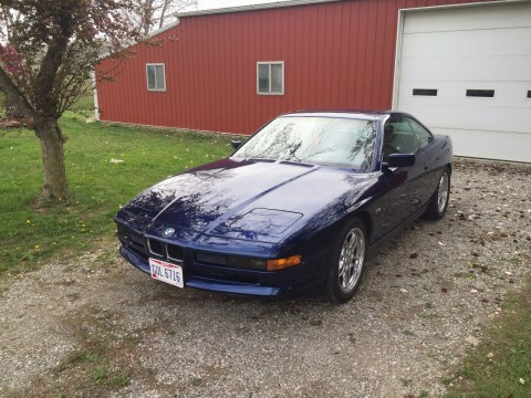 1991 BMW 850i   5.0L V12   Automatic for sale