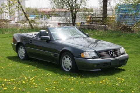 1995 Merecedes Benz SL 600 V12 Convertible for sale