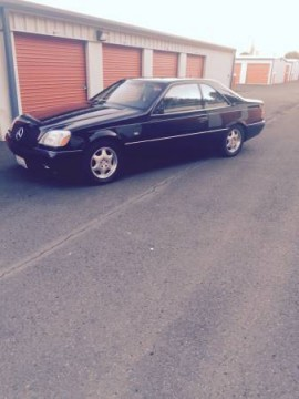 1997 Mercedes Benz CL600 Coupe V12 for sale