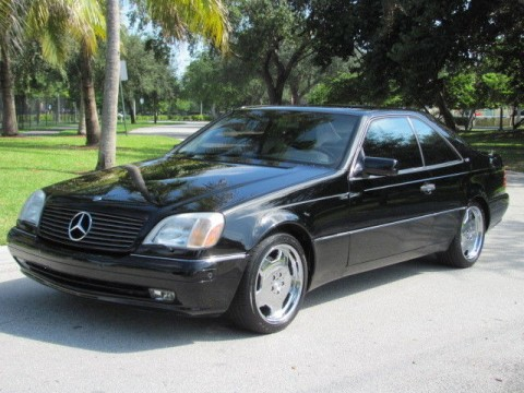 1997 Mercedes Benz S600 V12 Coupe for sale