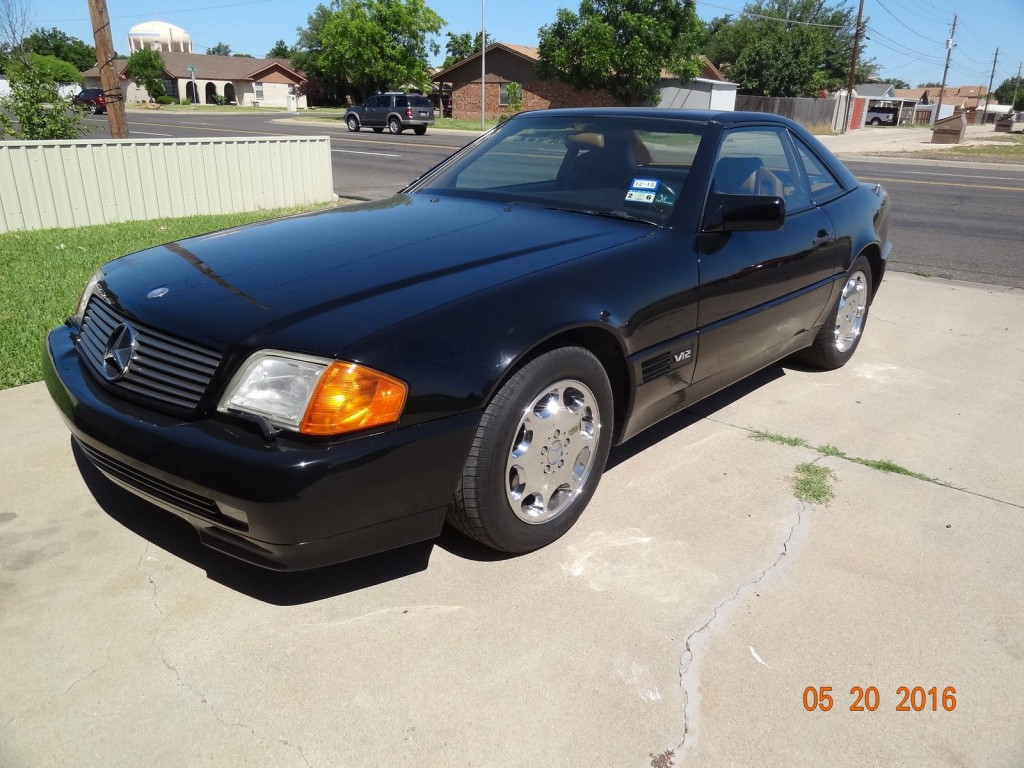 1994 mercedes benz 600 sl v12 coupe for sale. Black Bedroom Furniture Sets. Home Design Ideas