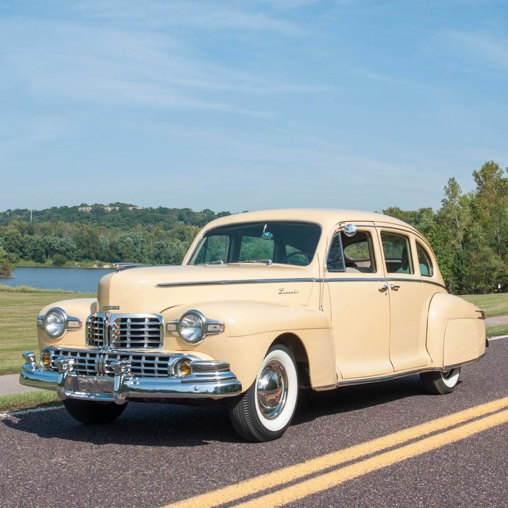 1999 Lincoln Continental For Sale: 1947 Lincoln Zephyr Sedanette Fastback For Sale