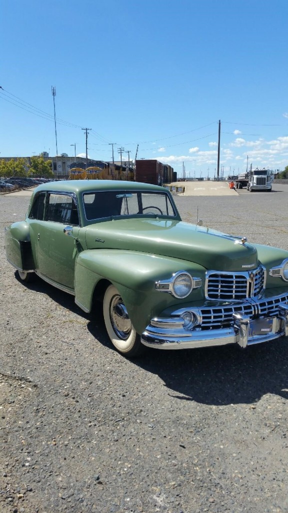 1948 lincoln continental coupe for sale. Black Bedroom Furniture Sets. Home Design Ideas