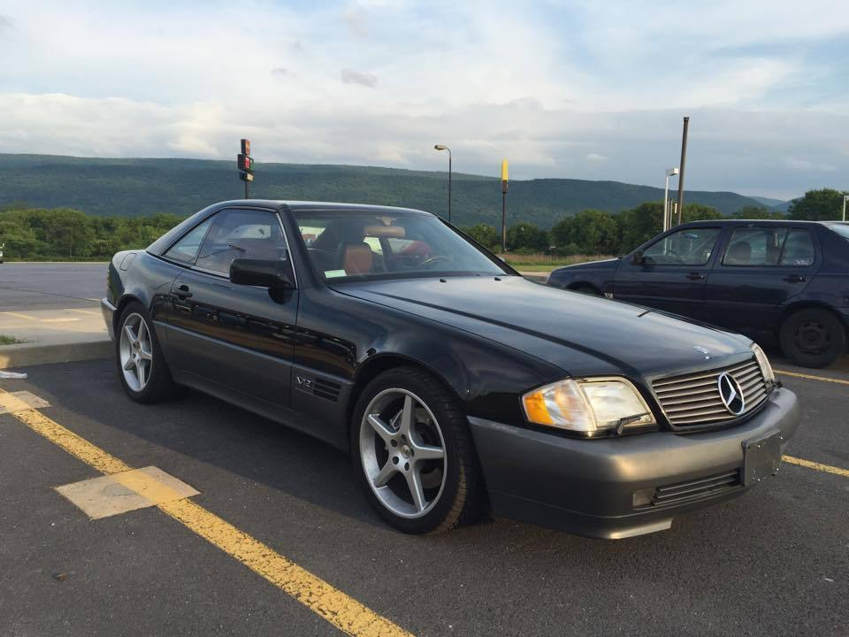 1994 mercedes benz sl class sl600 for sale. Black Bedroom Furniture Sets. Home Design Ideas