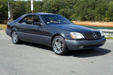 1997 mercedes benz cl600 coupe v12 for sale. Black Bedroom Furniture Sets. Home Design Ideas