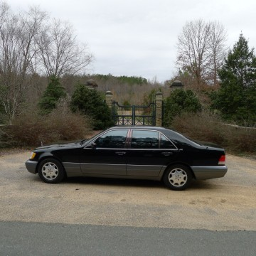 1996 Mercedes Benz S Class S600 for sale