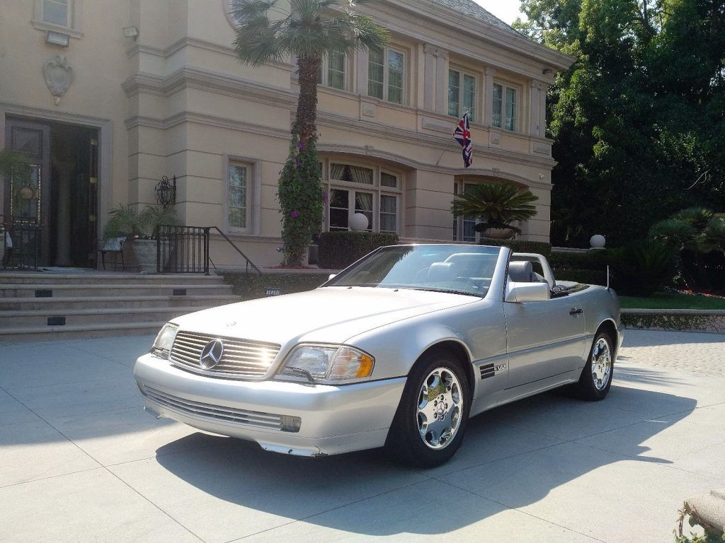 1995 Mercedes-Benz SL600 V12 Roadster Sport Ed.
