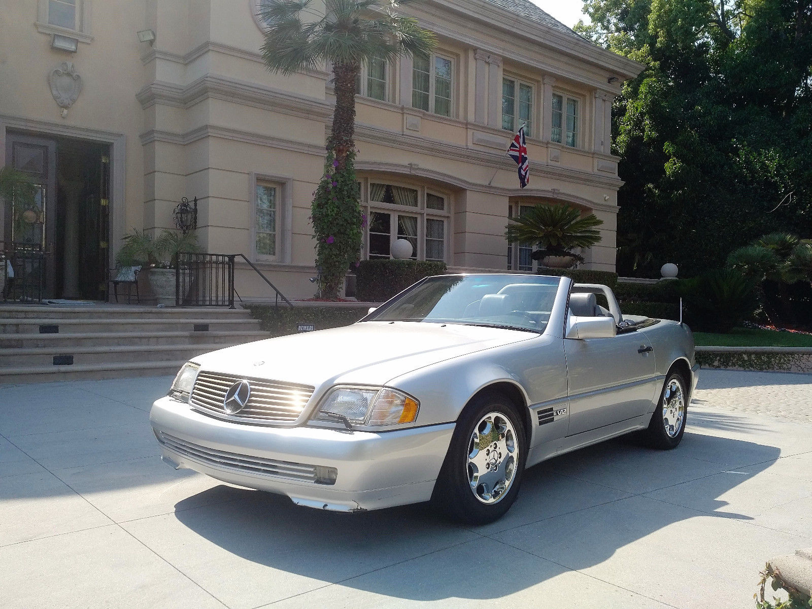 1995 mercedes benz sl600 v12 roadster sport ed for sale. Black Bedroom Furniture Sets. Home Design Ideas