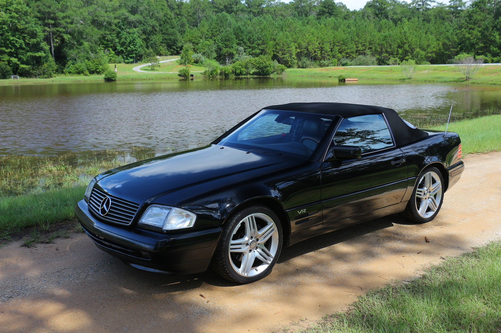 1997 mercedes benz sl600 6 0 v12 convertible for sale. Black Bedroom Furniture Sets. Home Design Ideas
