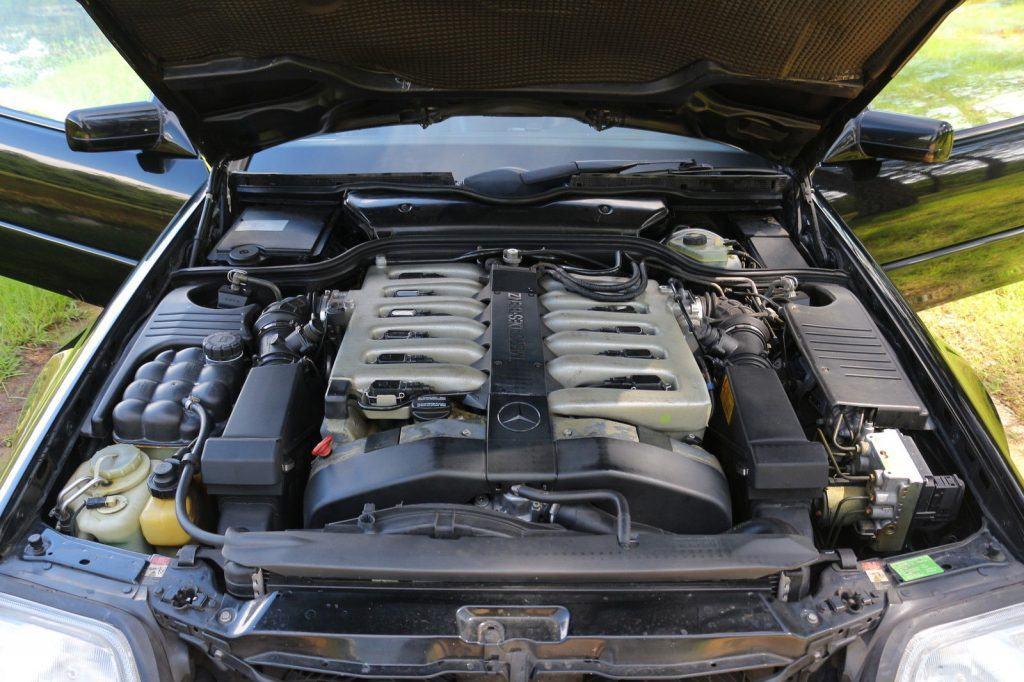 1997 Mercedes Benz SL600 6.0 V12 Convertible