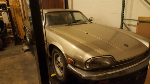 Low mileage 1988 Jaguar XJS V12 for sale