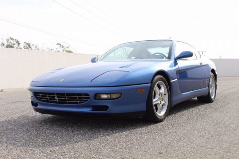 Rare 1995 Ferrari 456 GT (6 Speed Manual in Azzurro Monaco Metallic) for sale