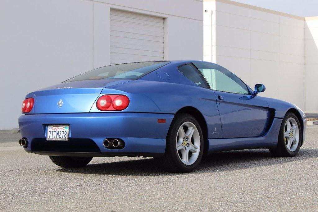 Rare 1995 Ferrari 456 GT (6 Speed Manual in Azzurro Monaco Metallic)