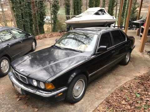 GREAT RESTORATION 1988 BMW 7 Series for sale