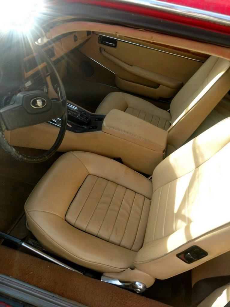 1985 Jaguar XJS – ran good