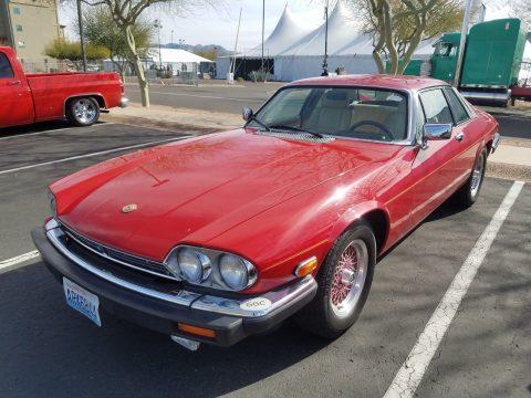 Very rare 1989 Jaguar XJS Rouge Edition for sale