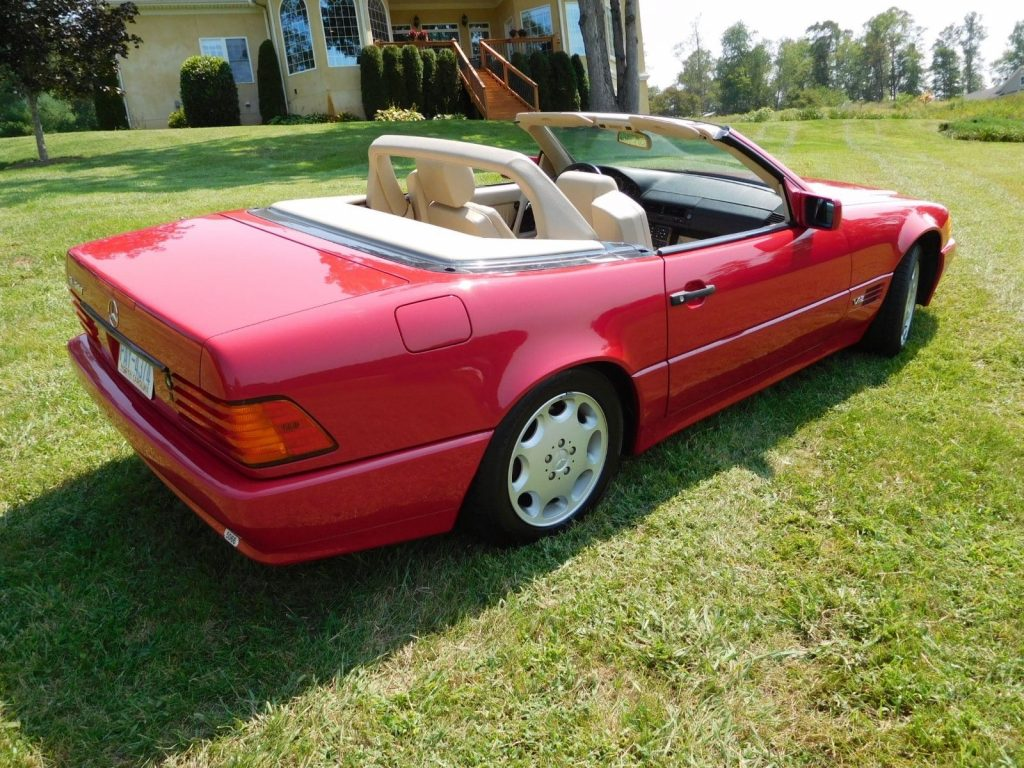 GREAT 1994 Mercedes Benz SL Class Convertble