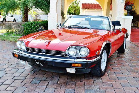 1991 Jaguar XJS Convertible Classic V 12 Low Miles Super Clean for sale
