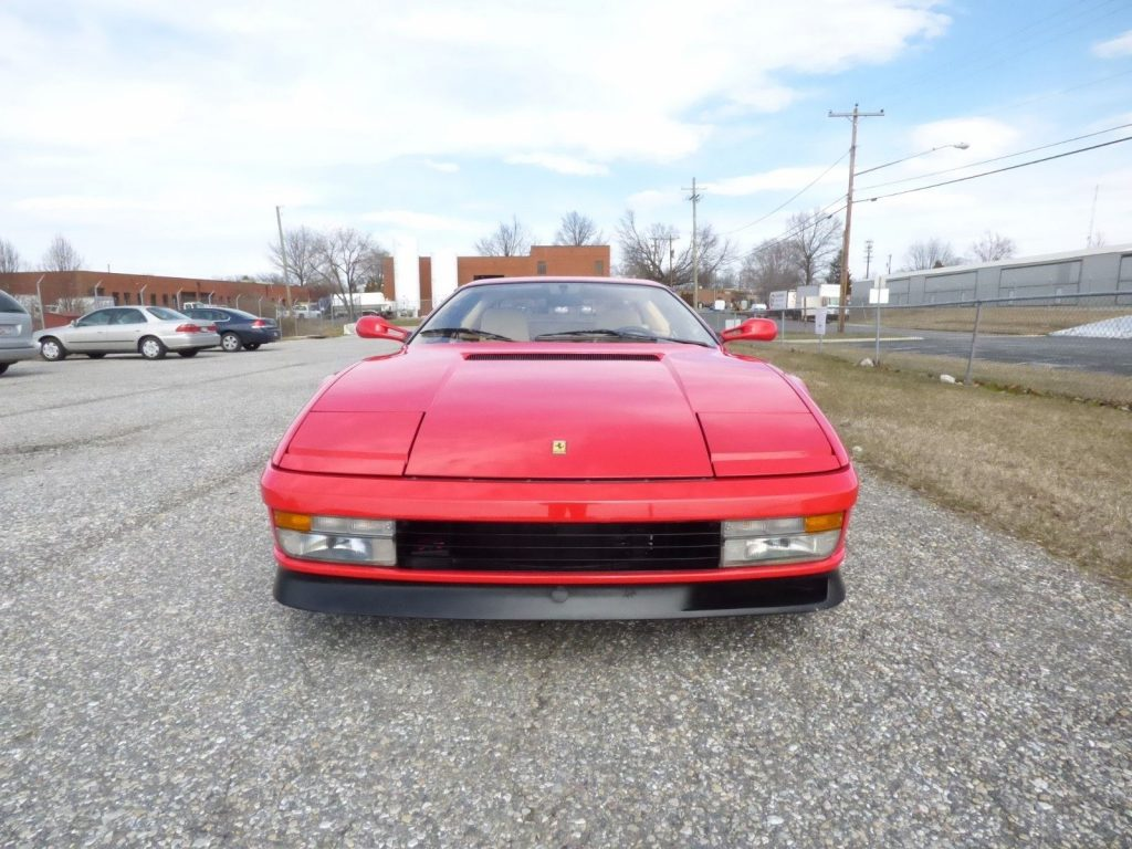 GREAT 1987 Ferrari Testarossa