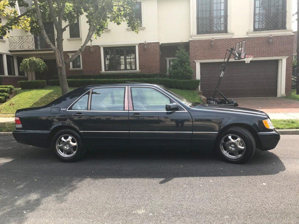 VERY RARE 1997 Mercedes Benz S Class S600
