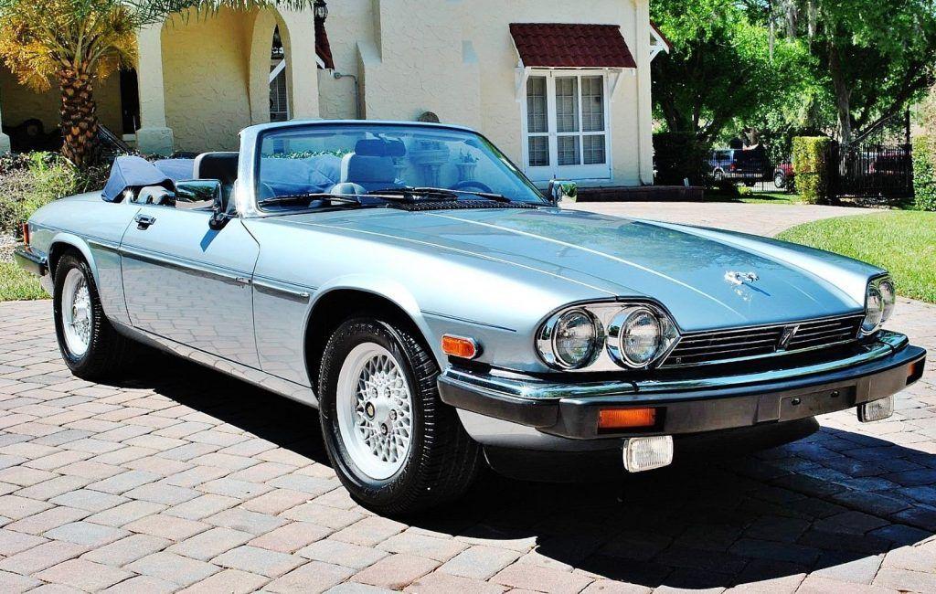 VERY NICE 1990 Jaguar XJS Convertible