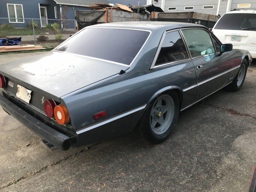 1982 Ferrari 400i 2+2 V12 Auto Barn find, Needs Restoration, All original