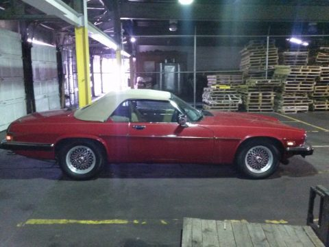 1990 Jaguar XJS convertible for sale