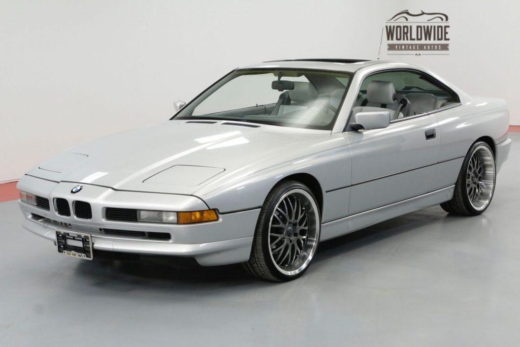 1991 BMW 850i 5.0 V12 4 Speed Auto