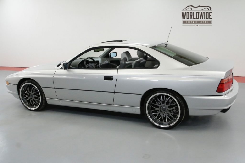 1991 BMW 850i 5.0 V12 4 Speed Auto