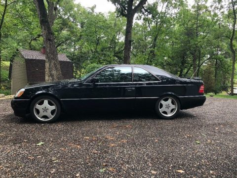 1997 Mercedes Benz S600 Coupe for sale